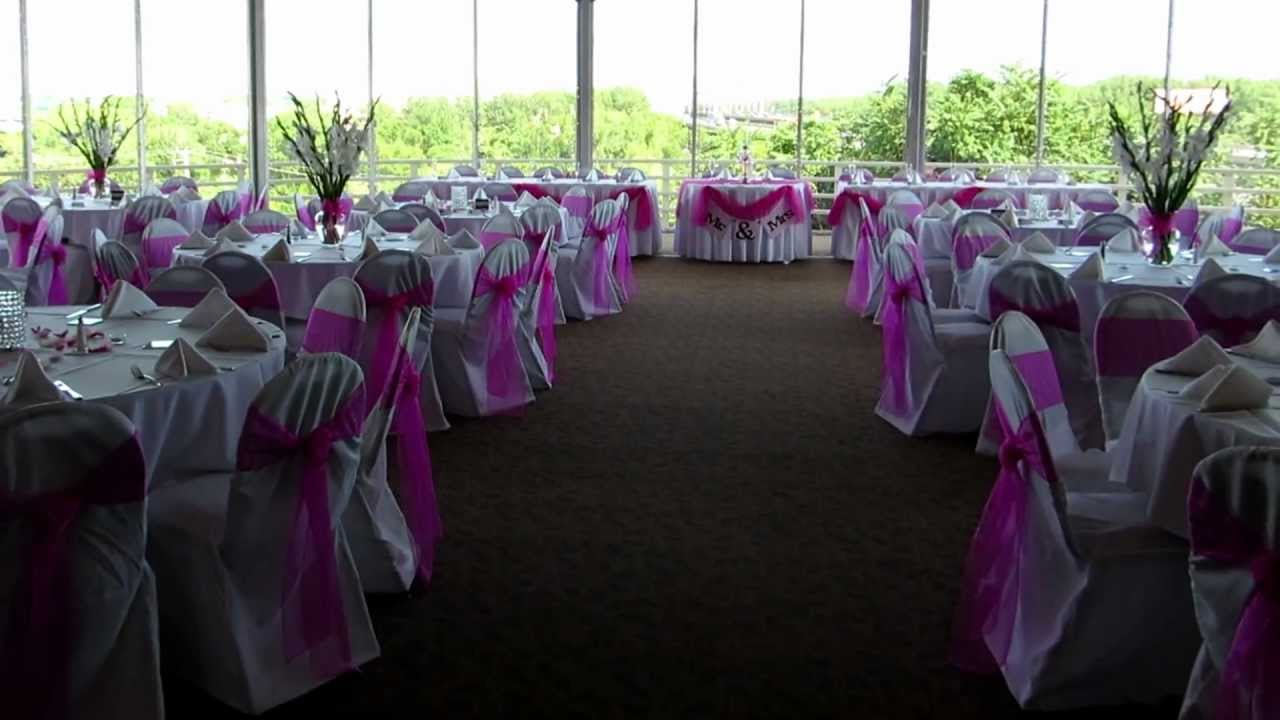 Beautiful In Pink Wedding Reception The Heart Of St Charles
