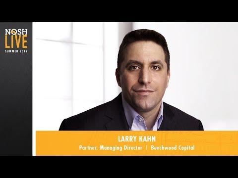 Deal Look-In 1: Growth Capital -  Larry Kahn, Beechwood Capital