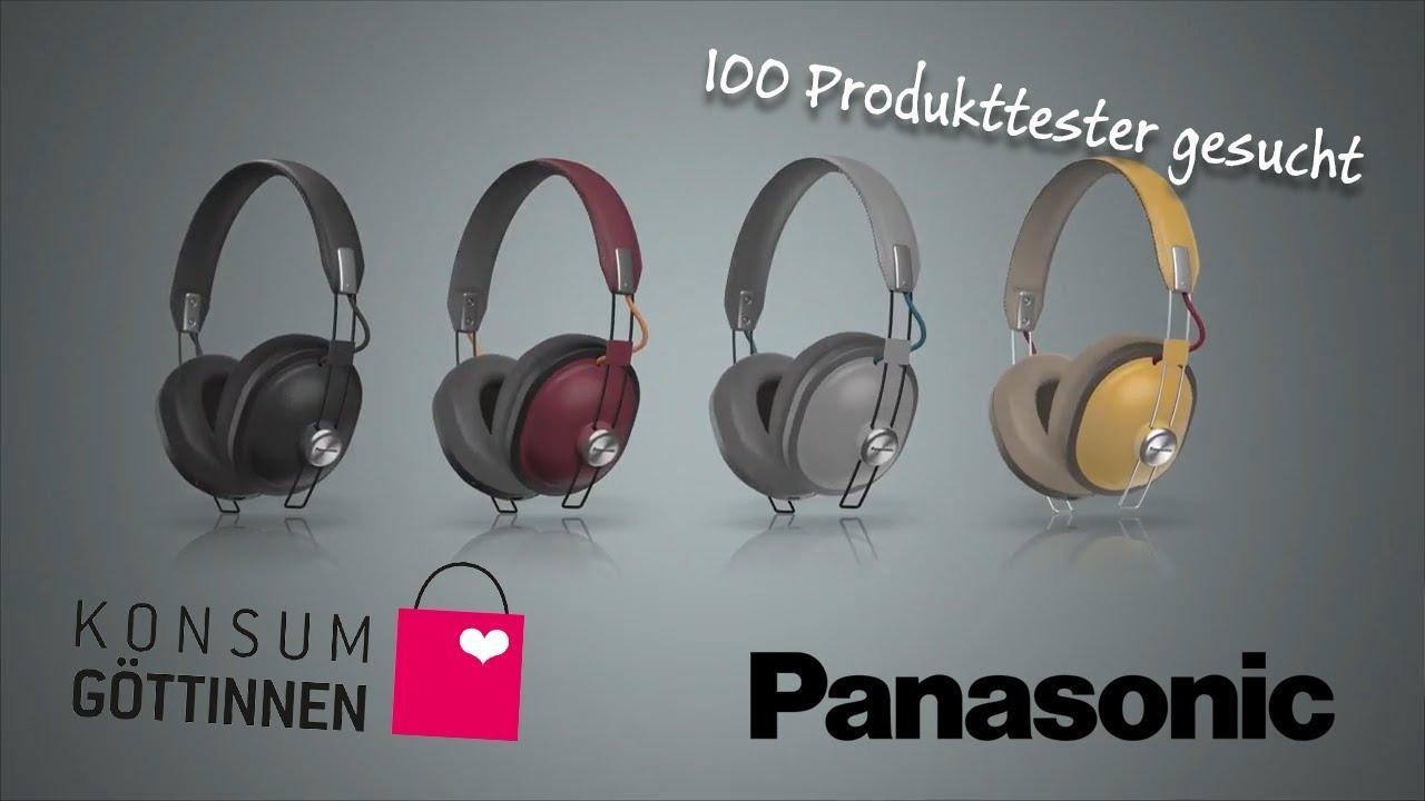 Panasonic HTX80B Kopfhörer