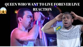 QUEEN WHO WANTS TO LIVE FOREVER LIVE AT WEMBLEY REACTION