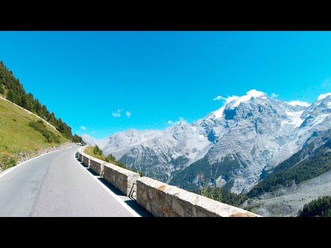 Austria, Italy & Switzerland Alps, Ötztaler Gletscherstraße, Passo Dello Stelvio, BMW 1600 GTL 4K