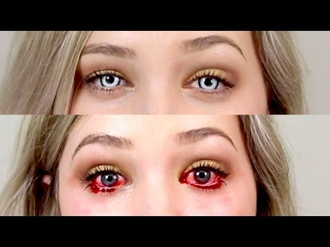 DON'T BUY HALLOWEEN/CRAZY LENSES ONLINE* - How to buy and wear lenses safely