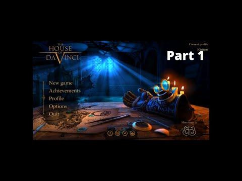 The House Of Da Vinci Walkthorugh Gameplay Part 1.  