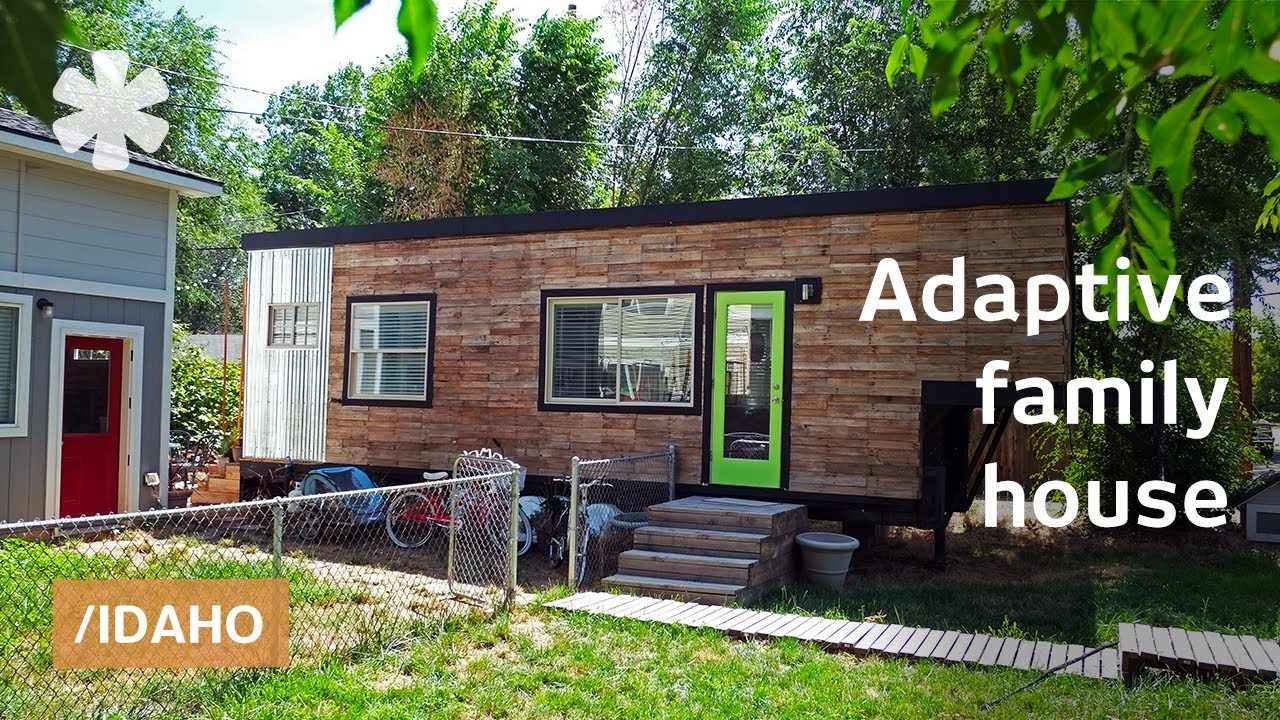 Macy miller builds adaptive small home for family of 4 for Tiny house for family of 4
