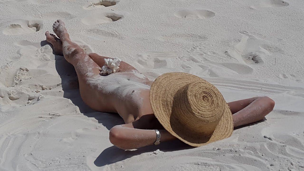Männer fkk nackt schwimmen Sommer, Sonne,