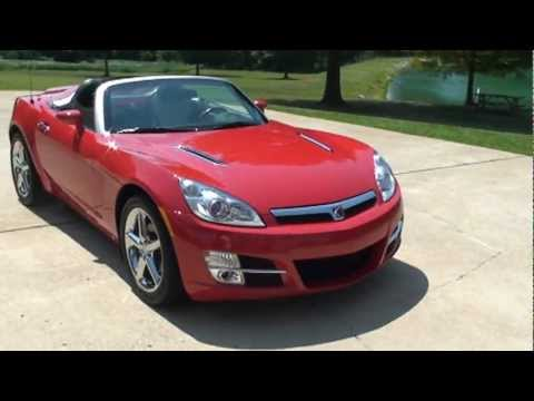 2007 saturn sky convertible red 5k miles for sale see www sunsetmilan com youtube. Black Bedroom Furniture Sets. Home Design Ideas