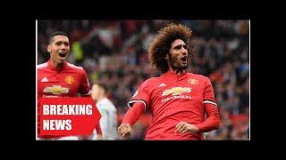 Breaking News - Man utd's marouane fellaini feels harshly treated by english football