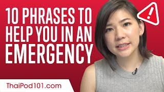 10 Thai Phrases to Help You in an Emergency in Thailand