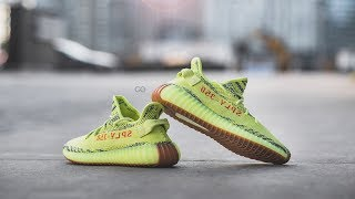 """Review & On-Feet: Adidas Yeezy Boost 350 V2 """"Semi Frozen Yellow"""""""