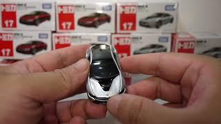 豪宅玩具~1568~TOMICA多美汽車火柴盒小汽車多美小汽車NO.17 BMW i8 一般初回