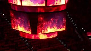 Carolina Hurricanes 2018-2019 Home Opener + Player Introductions
