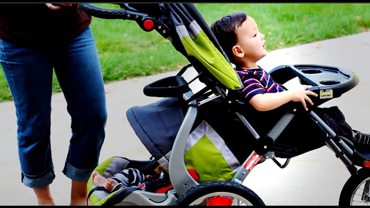 Change a One Baby Stroller into a Double Baby Stroller - Tutorial ...