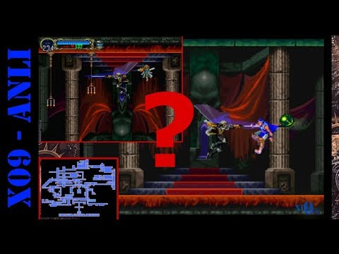 ANLI Como Alcanzar el Castillo Invertido en Castlevania Symphony of the Night