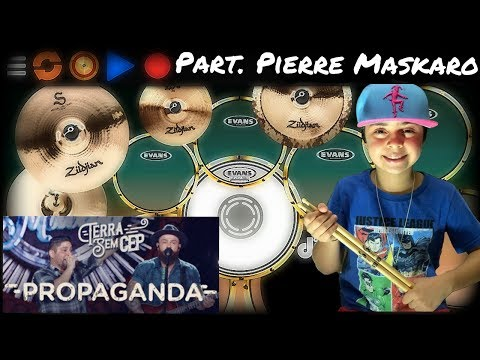 Propaganda Jorge e Mateus Nilkson Drummer feat Pierre Maskaro