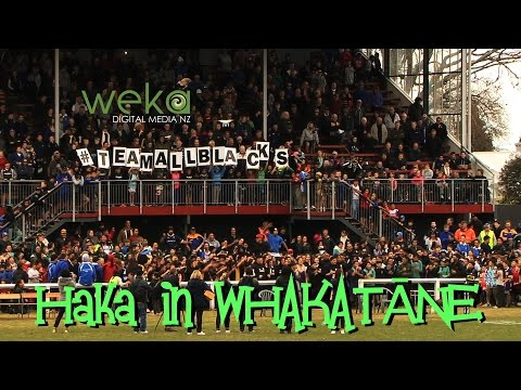 Haka in WHAKATĀNE