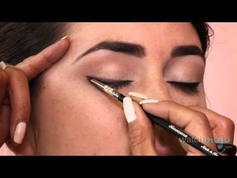 Audrey Hepburn Breakfast at Tiffany's Inspired Makeup Look