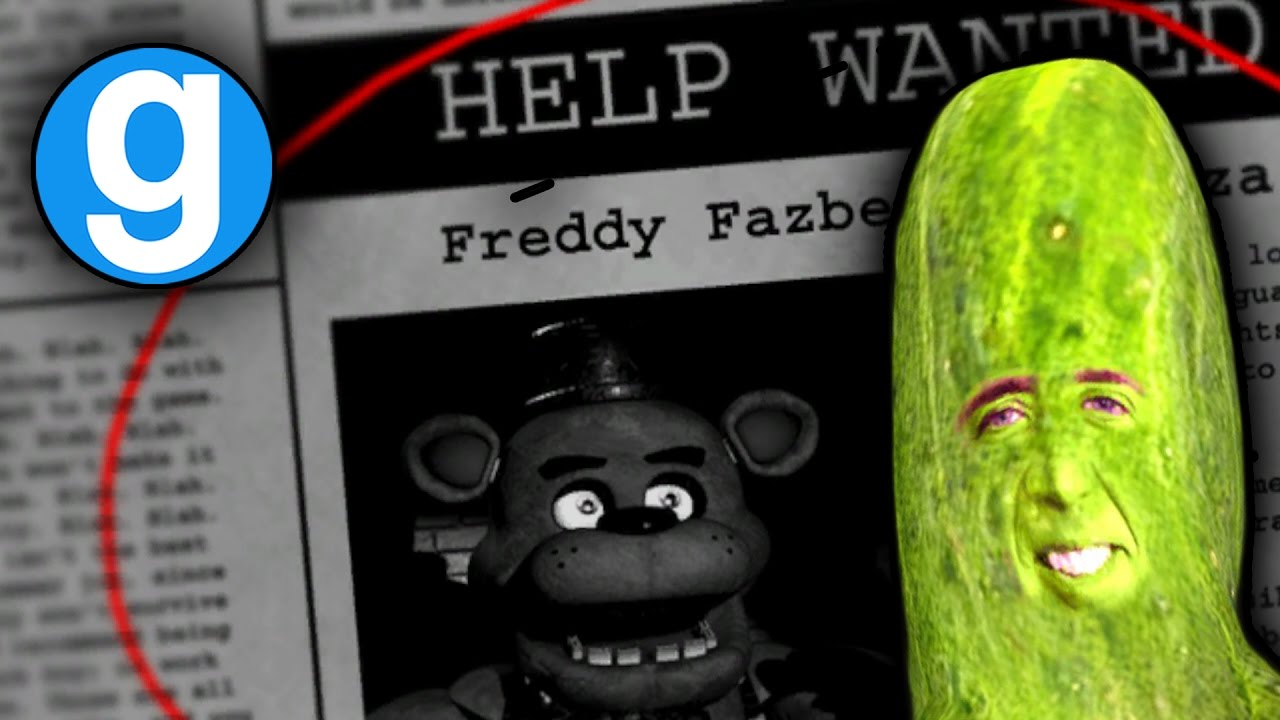 Five Nights at Freddy's Game Mode in Gmod & PICOLAS CAGE! | Five Nights at  Freddy's Gmod (Sandbox)