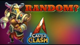 Castle Clash Procs Truly Random?