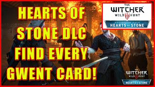Witcher 3: Hearts of Stone Gwent Card Locations  - 4K Ultra HD