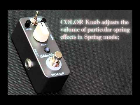 Mooer ShimVerb digital reverb micro pedal
