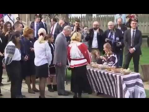 """Prince Charles """"Breaks Royal Protocol"""" During His Trip to Romania"""