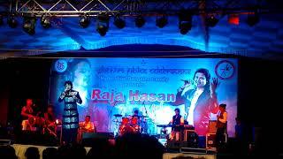 Raja Hasan at Hyderabad Bangalee Samity Durga Puja 2016 | Sa Re Ga Ma Pa Challenge 2007 Finalist