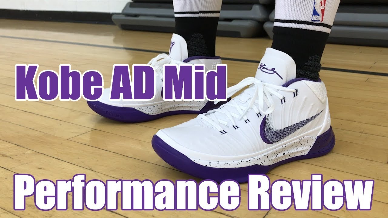 56de8581f77 Kobe AD Mid Performance Review (SOLID OUTSOLE) - YouTube