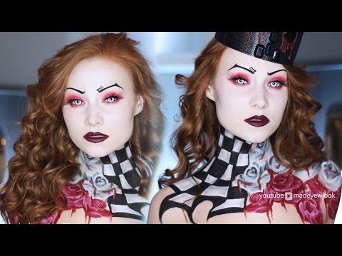 Queen of Hearts/Burton Inspired Makeup & Hair Tutorial
