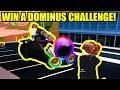 ESCAPE RICHEST ROBLOX PLAYER for a DOMINUS CHALLENGE | Roblox Jailbreak