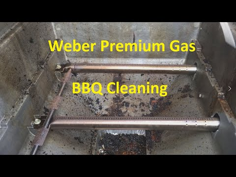 Weber Gas Grill Cleaning