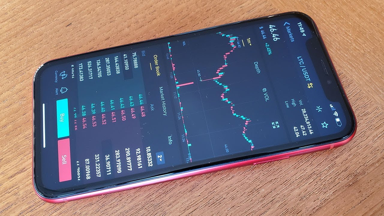 best cryptocurrency app iphone