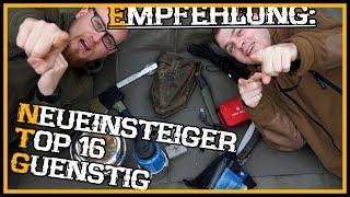 Anfänger/Neueinsteiger und günstige Ausrüstung - Top 16 - Outdoor Bushcraft Deutschland