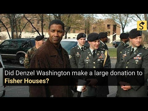 Snopes.com: Did Denzel Washington Make A Large Donation To The Fisher House?