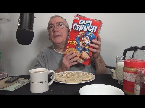 ASMR Eating Cap'n Crunch Cereal Whispering