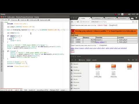 Разбор URL средствами PHP при ЧПУ в простом движке PHP