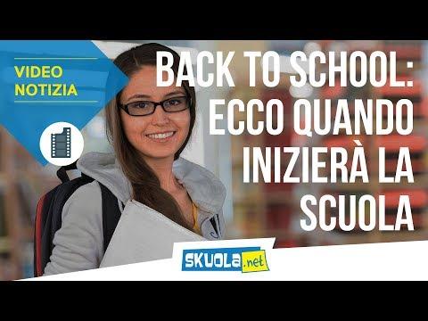 Back to school: ecco quando inizierà la scuola in ogni regione