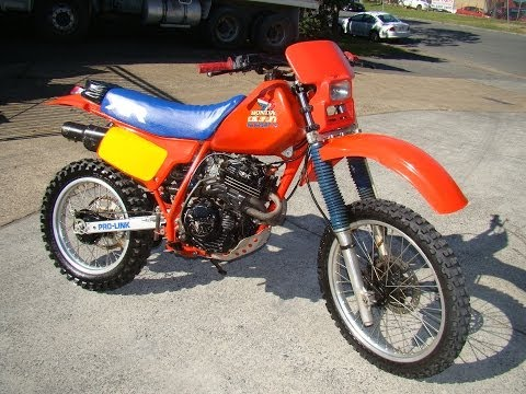HONDA XR250 1985