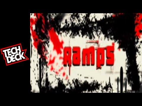 Tech Deck Trick Video #6: Ramp Tricks