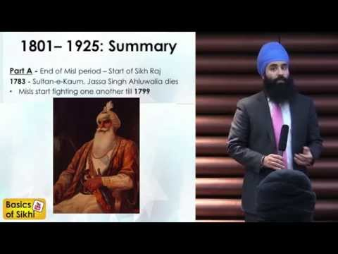 TWGC Topic #10 Part A - Rise and fall of the Sikh Kingdom