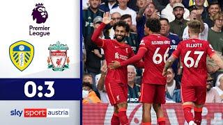 Salah mit Jubiläum | Leeds United - FC Liverpool | Highlights - Premier League 2021/22