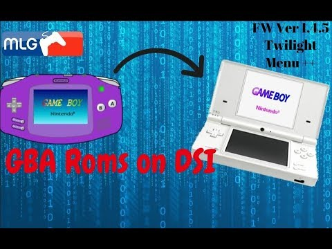 How to Install GBA Runner 2 On DSI Using Twilight Menu ++ Play Gameboy  Advance Games
