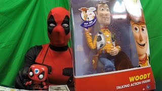 ep070 4K Disney Toy Story Talking Sheriff Woody - A DeadPewPie Toy Review