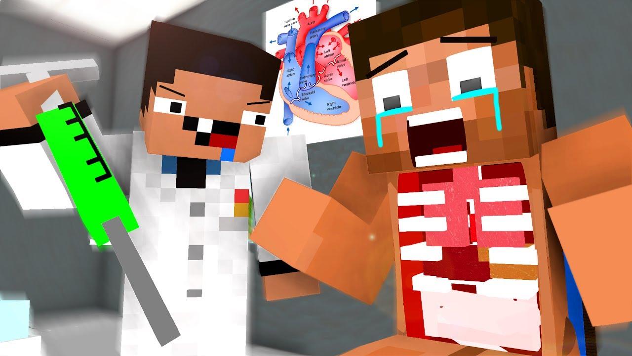 Dr. Noob Life - Operation 1 - Craftronix Minecraft Animation