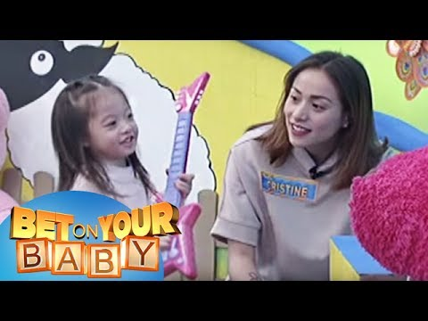Bet On Your Baby: Baby Dome Challenge With Mommy Cristine And Baby Amarah