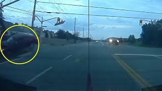 5 Strangest Things Caught On Dashcam!