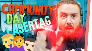 COMMUNITY DAY bei GMI! | Krasseste LASERTAG Session ever