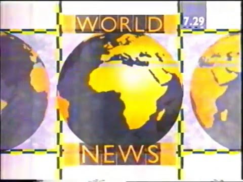 Channel 4 Daily 'World News' 1990 (w/Gill Pyrah)