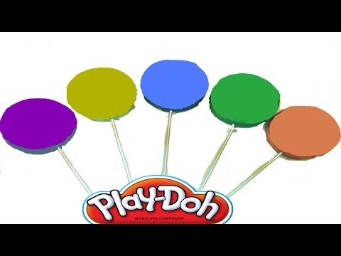Play Doh Rainbow Colors Surprise Eggs With LeGo Hello Kitty Peppa Pig Doraemon