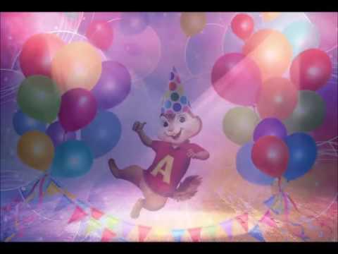 stevie wonder happy birthday chipmunk version