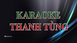 Dòng Đời Trôi Mãi Karaoke Beat Thanh Tùng